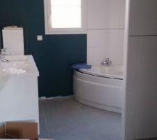 Salle de bain en cours...