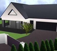 enrob e maison habitat concept pr s d 39 yvetot. Black Bedroom Furniture Sets. Home Design Ideas