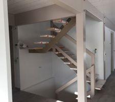 Rembardes escalier posées