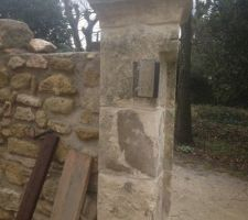 detail pour la reception portail
