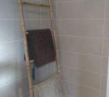 Salle de bain côté douche