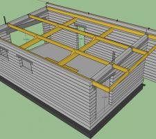 2eme idee pour la charpente du garage suite a un avis de kauffmann ludovic