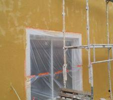 reprise de la facade avec les defauts