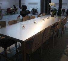 les tables s a m avec les chaises du moment