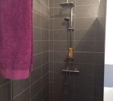 Installation colonne de douche Amazon 50? très bien !