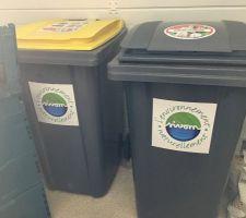 Réception des poubelles