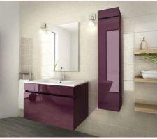 J'aimerais parti sur un style loft pr la salle de bain pour changer des meubles bois !  Meuble laqué , douche italienne avec parois fumé ..