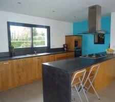 salle salon cuisine