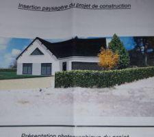 Photo du permis de construire