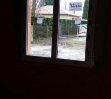 Fenêtre de notre chambre