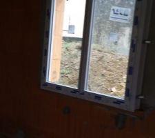Fenêtre de la chambre d'enzo
