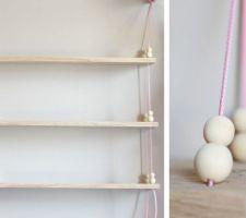DIY - L'étagère balançoire pour la cuisine