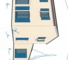 modele carla 125 m2 sans toit 4 pentes car non autorise