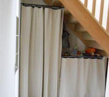 recyclage des rideaux ikea en attendant mieux