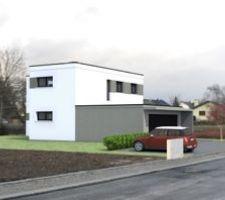 notre maison avec espaces d interieur