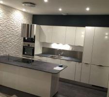 Notre cuisine est terminée !!!