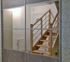 Et voilà un placard de standard 2x 99.7cm adapté à notre chez nous !!!