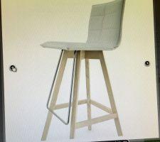 Idées tabouret/chaise îlot