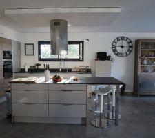 soleil du matin dans la cuisine