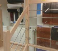 Un extrait de notre escalier