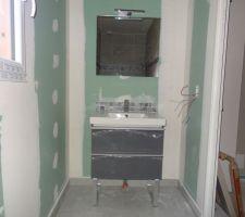 salle d eau de la chambre d amis