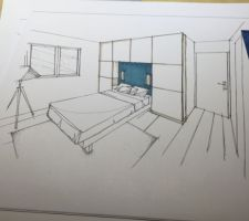 Idée déco de l'archi d'intérieur pour notre chambre