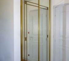 portes de placard posees recuperees chez mes parents quand on a refait entierement l appart