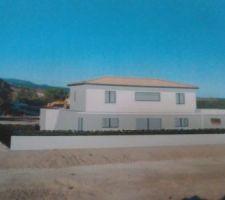 construction 1ere maison entre nimes et montpellier