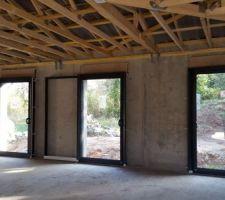 baies galandage chambres 1 vantail 1 20m