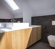 Simulation 3D de notre salle de bains à l'étage