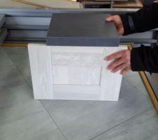 façades et plan de travail cuisine