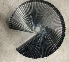 Fabrication des ecllisses pour la pose des couvertines