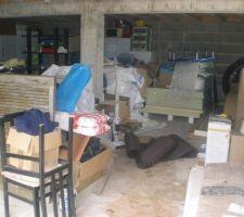 Juin 2010 la piscine squatte le garage