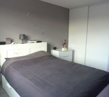 notre chambre meublee