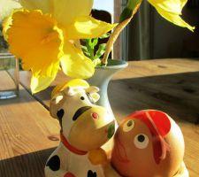 Joyeux Pâques! Oeuf décoré par ma fille ;-)