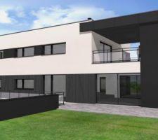 maison d architecte moderne grande surface aprime architecteurs rennes agglomeration
