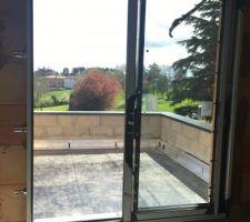 Toit-terrasse et sa couvertine