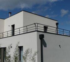 Garde-corps terrasse reste.