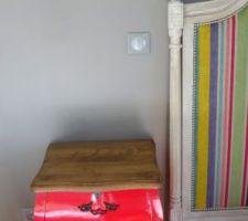 tete de lit finie demain on la fixe au mur