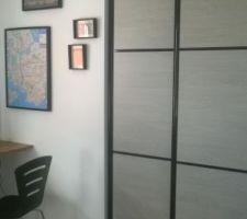 chambre atelier bureau garage le fouzytou de la maison mais on soigne la deco placards termines