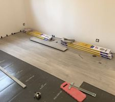 Chambre 2 en Quickstep balance click BACL40052 Chene Clair Soyeux