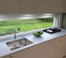 Fenêtre panoramique cuisine