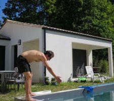 La piscine ouverte !