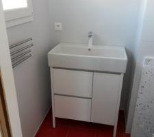 Meuble de la salle d'eau