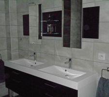 Meuble de 160 cm avec double vasque