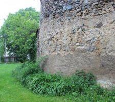 mur exterieur bas