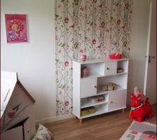 Chambre de petite fille terminée
