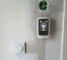 test sur le variateur des spots utilisable via smartphone