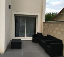 La petite terrasse du salon