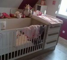 le lit de la petite